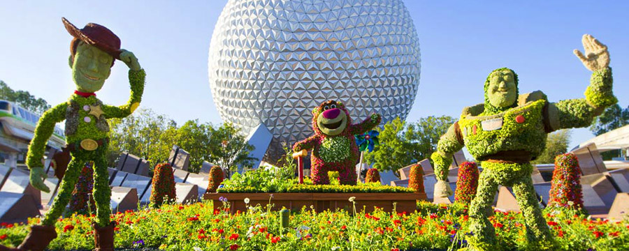 Epcot International Flower &amp; Garden Festival